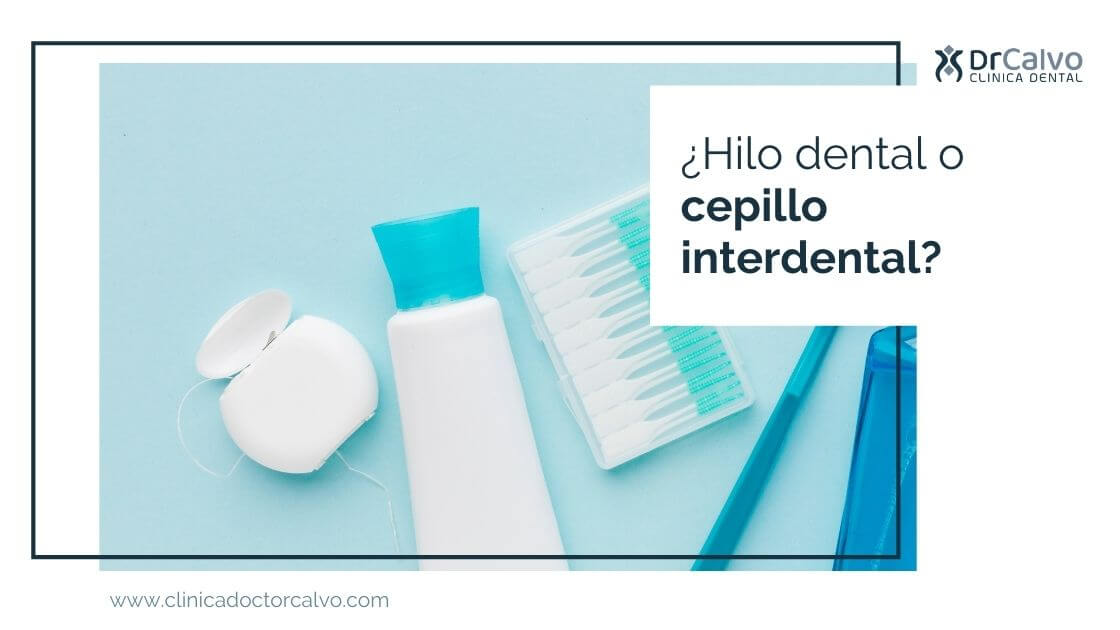 ¿Hilo dental o cepillo interdental?